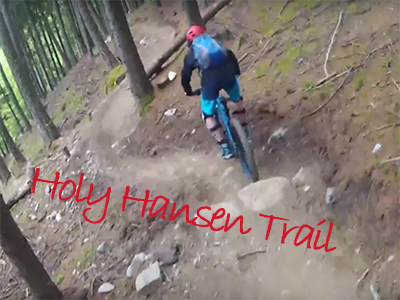 Logo Holy Hansen Trail